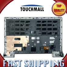 For New LCD Display Touch Screen with Silver Frame Assembly Replacement For Lenovo Yoga Tablet 2 Pro 1380 Free Shipping