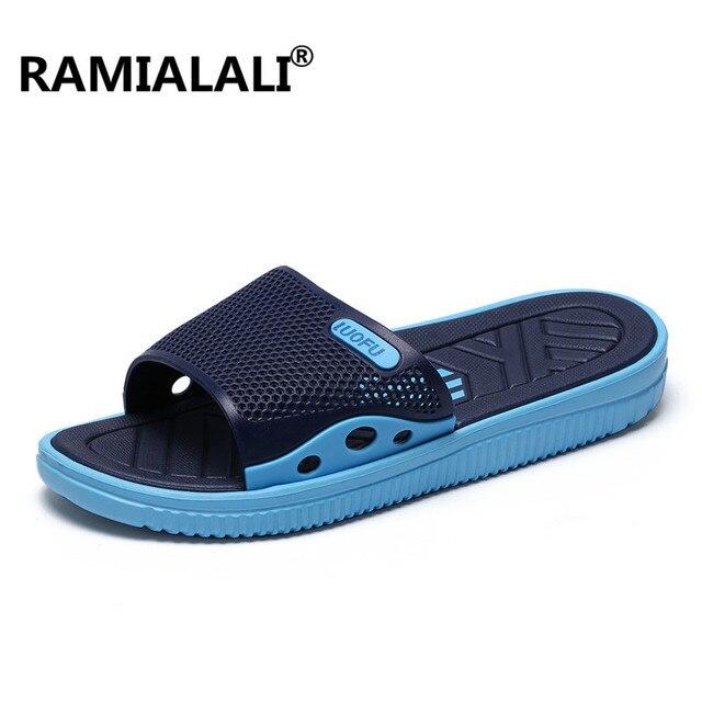 NEW-4F Men's Summer Flip Flops Sandals Slipper Beach Shoes Indoor & Outdoor