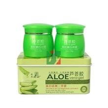 PAIMEI aloe vera gel 7days shining and whitening 10days anti-spot day + night cream 2pcs/set