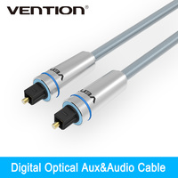 Vention Digital Optical Audio Cable Toslink Gold Plated 1m 2m 3m SPDIF Coaxial Cable For Blu