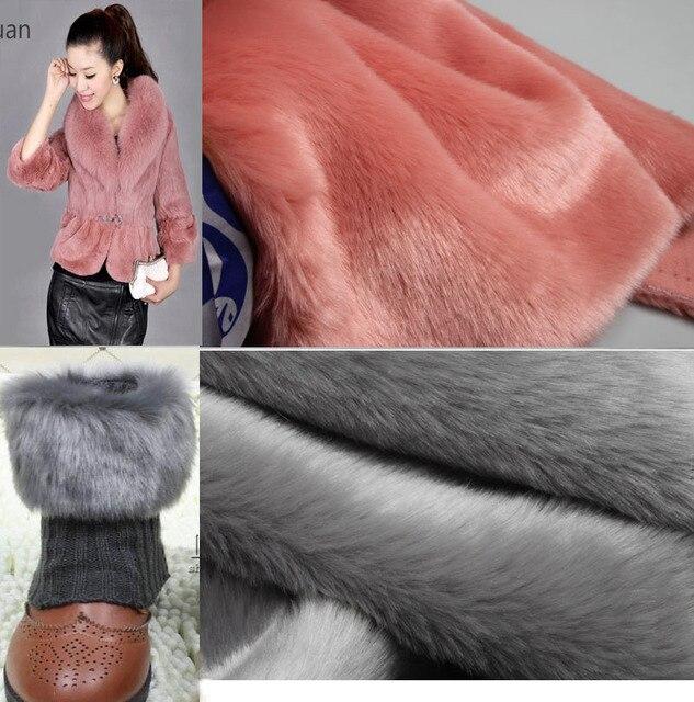 180x50cm1pc Good Faux Fur Fabric Soft Plush Faux Fur Fabric Sewing Material Diy Hometextile&Clothing Warm Rabbit Faux Fur Fabric