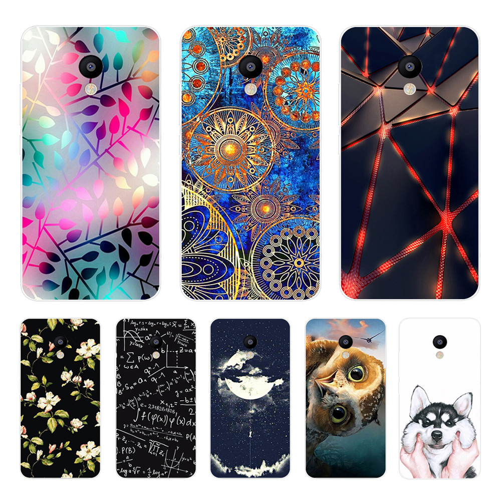 For Meizu M5C M710H A5 Case Soft TPU Silicone Cover For Meizu 5C A5 Cartoon Phone Case For Meizu A5 M 5C Full Protective Coque
