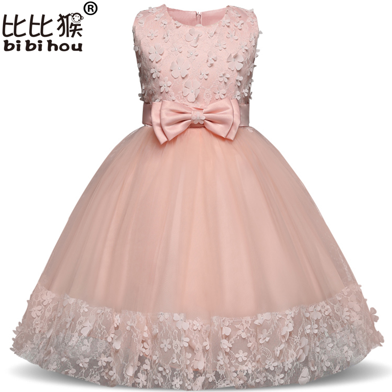 Flower     Girl     Dresses   Children Clothes Shining Floral Party   Dress   for   Girls   Kids Wedding Tutu   Dress   Princess carnival costume BABY