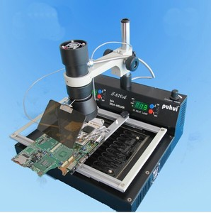 Image 2 - PUHUI T870A BGA IRDA Infrared Electric Rework Station Soldering Welder 35   50 mm CSP LGA QFP PLCC BGA Ball Rework 110V or 220V