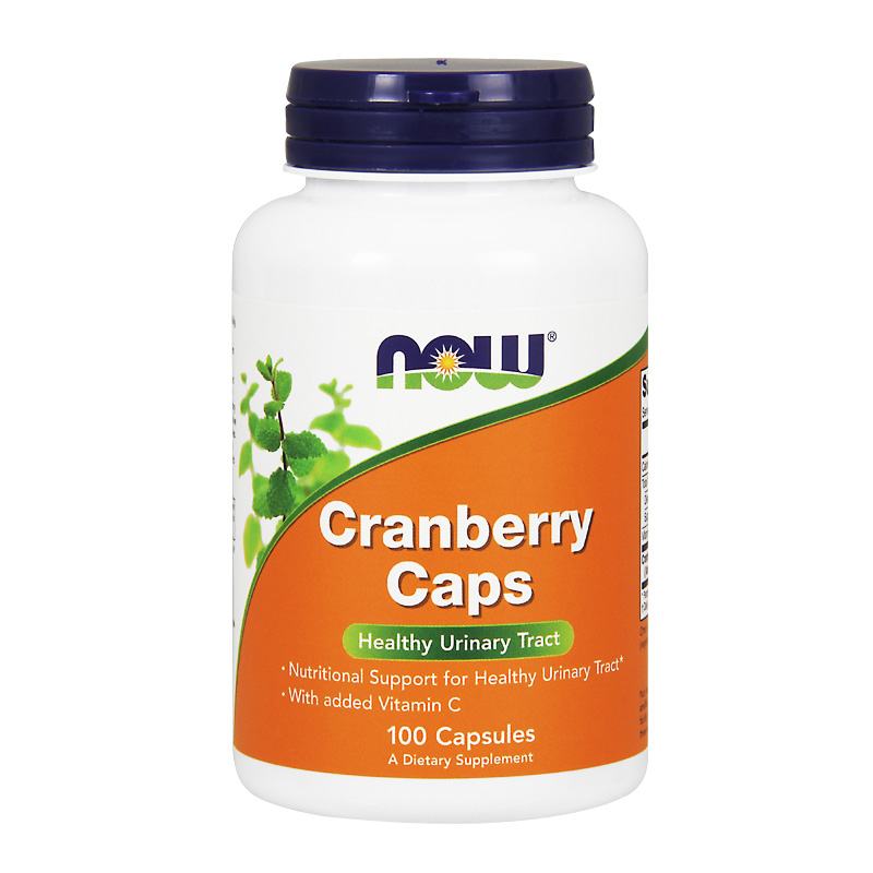 Now Cranberry Caps Healthy Urinary Tract 100 Pcs Free Shipping jarrow probiotics for women gynecological vaginal urinary tract health