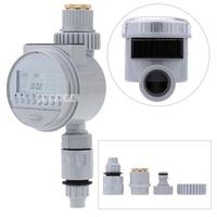 New Solar Power LCD Digital Electronic Intelligence Watering Timer FJK1006B Garden Irrigation Controller Water Programs System