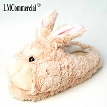 Children indoor bear Lovers Warm Woman Slippers Plush Shoes women winter slippers rabbit Custom slippers Home House Slippers