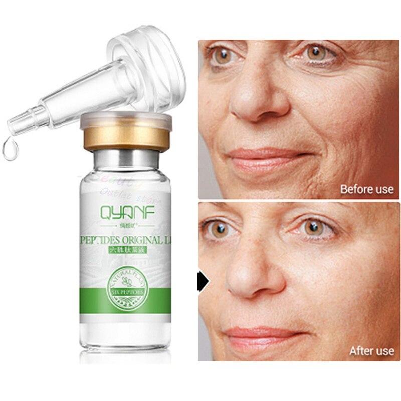 Image 3 - Hyaluronic Acid Argireline Collagen Peptides Whitening Cream Moisturizing Anti aging Wrinkle Essence Scar Remove Serum Face Care-in Serum from Beauty & Health