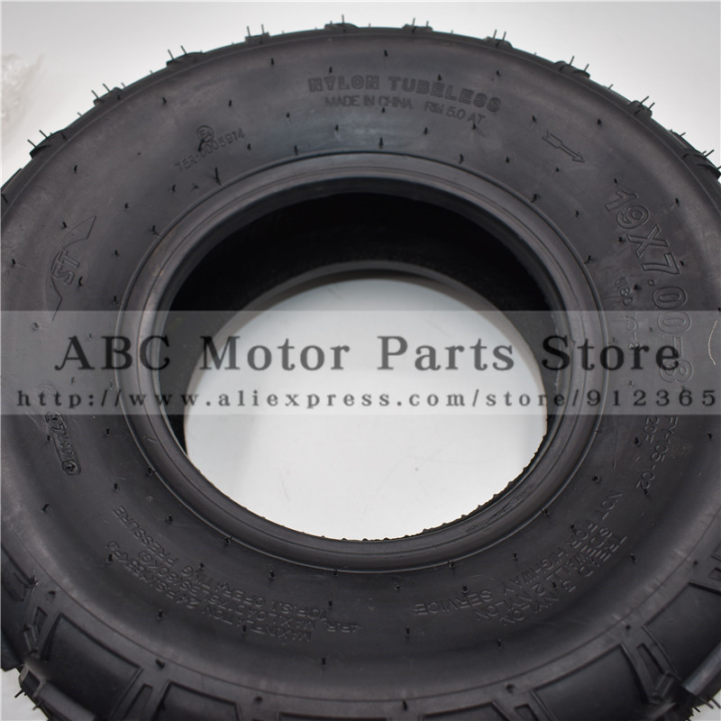 Atv Parts & Accessories 19x7.00-8 Atv 8 Inch Tire Four Wheel Vehcile Motorcycle Fit For 50cc 70cc 110cc 125cc Small Atv Front Rear Wheels Kayo Chinese Cheap Sales 50% Atv,rv,boat & Other Vehicle