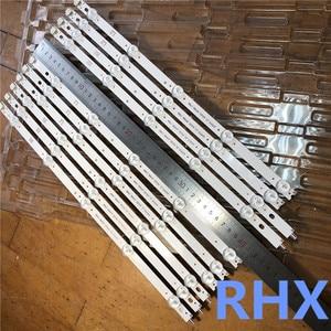 Image 5 - 10piece/lot for   Replacement Backlight Array LED Strip Bar LG 42LN6138 42LA6208 42LA6130 LC420DUE  100%new