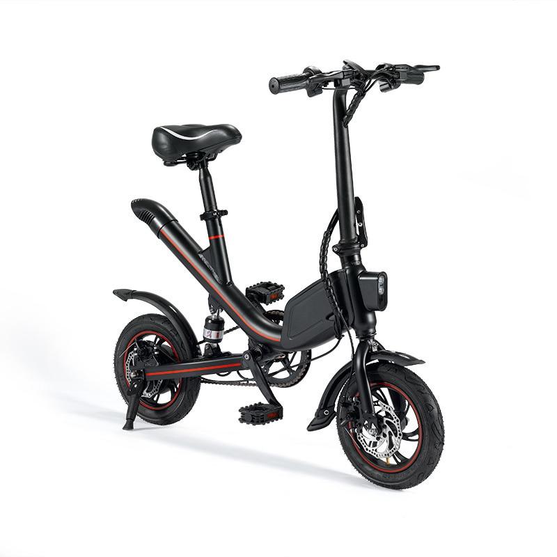 LOVELION Janobike pliant vélo électrique batterie au Lithium cyclomoteur Mini adulte batterie voiture hommes et femmes petite voiture électrique