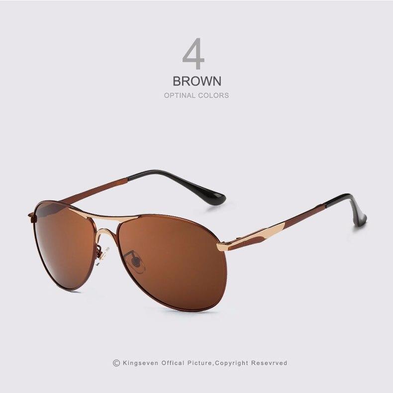 High Quality Polarized Sports Sunglasses Men Brand Designer UV protection KINGSEVEN Sun Glasses Driving Eyewear Male masculino 4