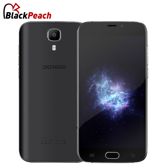 Doogee X9 mini 3G Mobile Phone 5.0 Inch HD IPS MTK6580 Quad Core Android 6.0 1GB RAM 8GB ROM 5MP Cam Fingerprint Smartphone