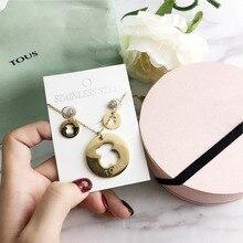 3e669de12a49 Tous oso conjuntos de joyería de anillo de moda de pulsera de cuentas  brazalete borlas pulseras con cuentas borla pulsera tous j.