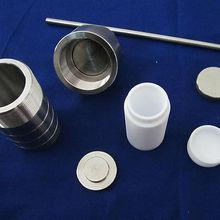 50 мл, тефлоновый обшит гидротермальный реактор синтеза, сосуд с фторопластом, бак с Ф4 обшит