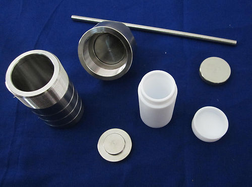 50ml,Teflon lined Hydrothermal synthesis reactor,PTFE lined vessel,F4 lined tank-in Lab Drying Equipment from Office & School Supplies    1