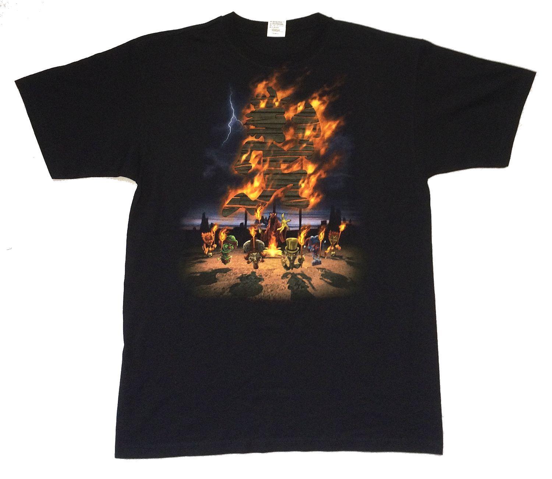 Insane Clown Posse Burning Hatchet Man T Shirt New Official Icp Drak Carnival