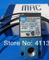 free shipping high frequency 24v 1/8 MAC micro solenoid valve 35A ACA DDAA 1BA