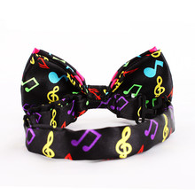 Colorful Musical Note Tie