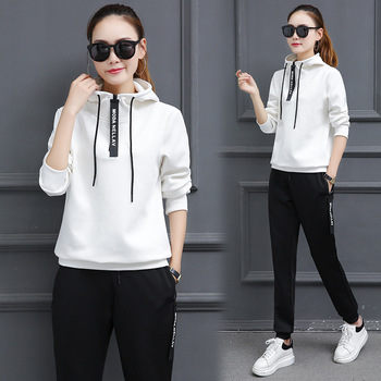 Sportswear Women Tracksuits Spring Autumn Sport Suits Hoodies Pants Set Women Gym Fitness Jogging Running Suits Women Clothing sexy sports bra and leggings