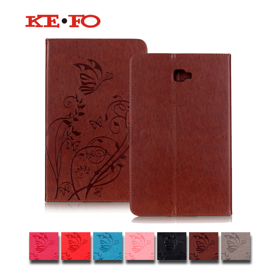 KeFo Capa Para Tablet For samsung galaxy tab a 10.1 t580 Leather Case Cover For Samsung Galaxy Tab A A6 10.1 2016 SM-T580 T585 fashion painted flip pu leather for samsung galaxy tab a 10 1 sm t580 t585 t580n 10 1 inch tablet smart case cover pen film