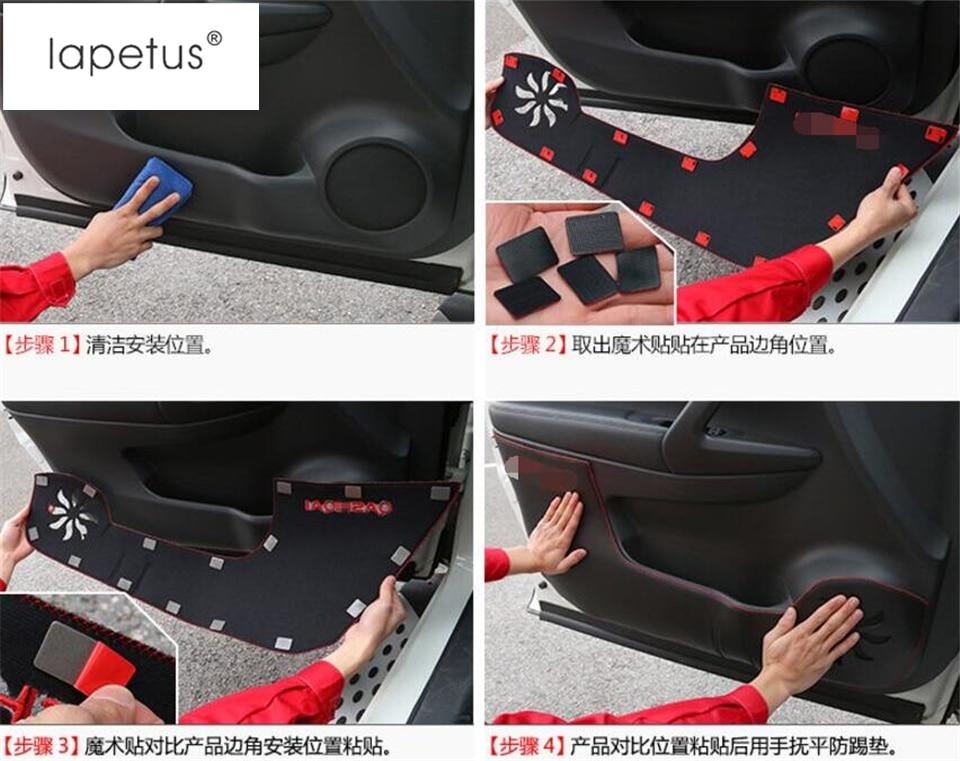 Lapetus Dodatki Avtomobilski vrat Anti Kick Pad Mat zaščitni - Dodatki za notranjost avtomobila - Fotografija 6