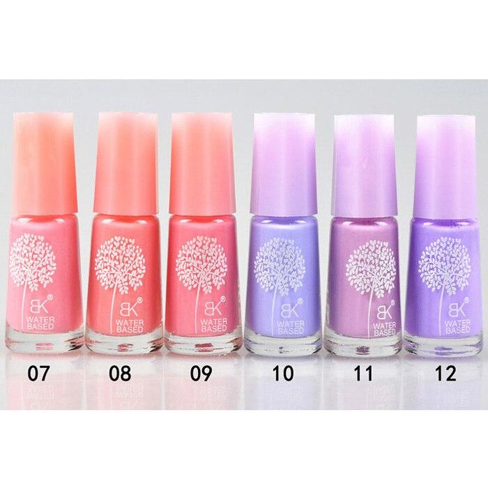 Pro 60 Colors Optional 7ml Non toxic Green Nail Gel Water based Nail ...