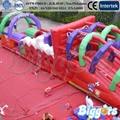 ENVÍO LIBRE POR EL MAR Increíble carrera de Obstáculos Inflables Parque Infantil Paty Gorila Inflable Con Soplador de Aire