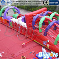 FREE SHIPPING BY SEA Amazing Inflatable Obstacle Course Playground Paty Inflatable Bouncer With Air Blower