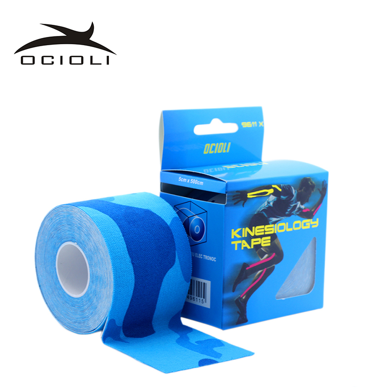 6 Rolls Kinesio Tex Tape Athletic Tapes Kinesiology Sport Taping Strapping Good Quality Football Exercise Muscle Kinesiotape