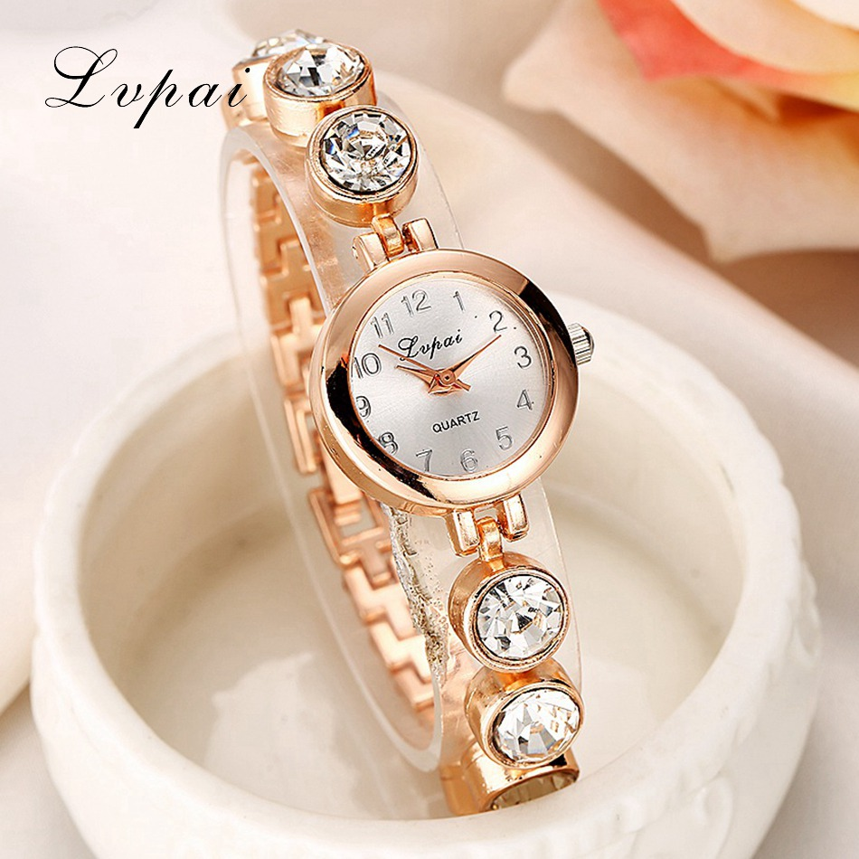 e044871032d Lvpai Verão Estilo Relógio Marca De Relógios de Ouro Das Mulheres Relógio  de Pulso Ladies Watch