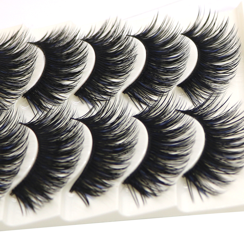 Friendly 1 Pair Handmade False Eyelashes Colorful Halloween Costume Party Fake Eyelashes Spider Pattern Thick Eye Lashes Party False Eyelashes