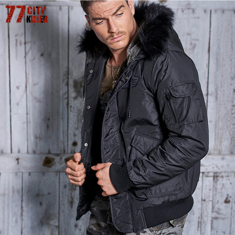 77City Killer New Winter Jacket Men Thick Velvet Warm Coat Thermal Warm Windproof Hood Jackets Mens Outwear Parka P911 winter jacket men thick velvet coat thermal warm windproof hood jackets mens outwear parka homme jaqueta men s casual coats