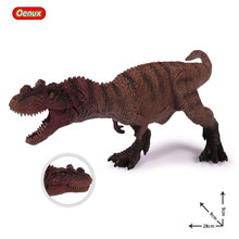 Oenux Jurassic Dinosaur Fierce Carnivorous Ceratosaurus Mouth Can Open Dinosaurs Action Figure Brinquedo Educational Toy For Kid