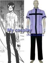 Anime Bleach Uryuu Ishida Quincy Uniform Men's Cosplay Costume for Halloween Cosplay party Men Roly-play Uniform Suit Shirt Pant