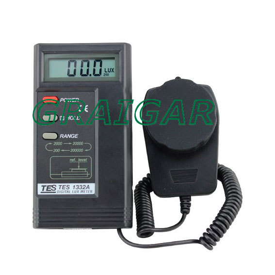 Digital Lux Meter TES-1332A ,Free Shipping! digital professional lux meter free shipping range 0 30000 lux st8050 st 8050