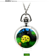 My Neighbor Totoro Quartz Necklace Pocket Watch