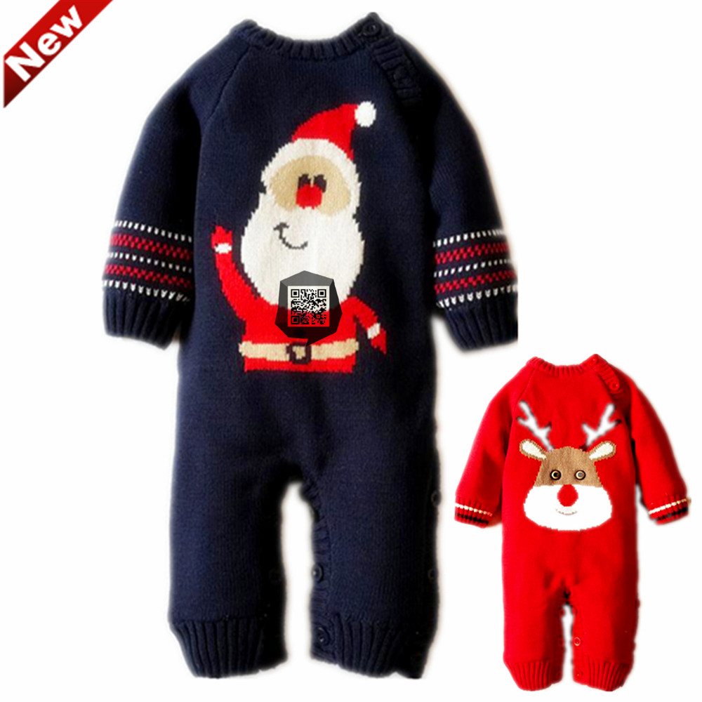 221821d682e8 Christmas Overalls Children s Winter Newborn Romper Baby Boy Clothes New  Year s Costumes For Boys Baby Girls Clothing 3 6motnths Tags