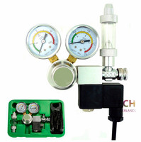 New Arrival High Quality Co2 Equipment Regulator Magnetic Solenoid Two Gauge Bubble Counter DICI Planted Aquarium