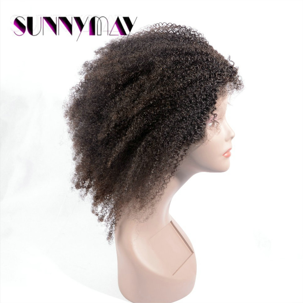 Hot sale! Grade 7A 100% Brazilian Virgin Human Hair Afro Kinky Curly Full Lace Wig/Lace Front Wig In Stock For Black Woman электрическая плита supra hs 101 black