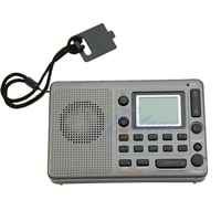 Tragbare Digitale Tuning LCD Empfänger TF MP3 Player FM AM SW Volle Band Radio New Z07 Drop ship
