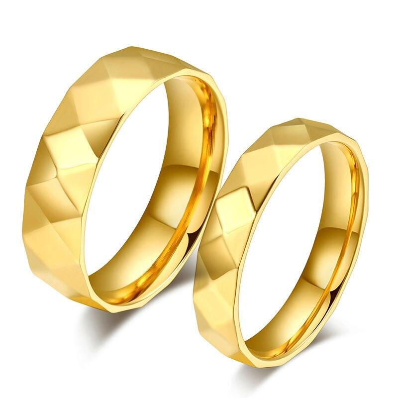 new pcs fashion wedding brand couple rings korean