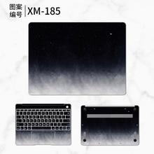 Laptop Sticker Cover for Huawei Matebook D 15.6 E 12 Starry Laptop Skin for MateBook X Pro 13.9 X 13.3 Notebook Stickers Coque цена 2017