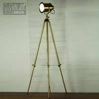 Modern Home Decoration Antique Brass Living Room Floor Lamp Coffee Shop Floor Lamp Study Light D550