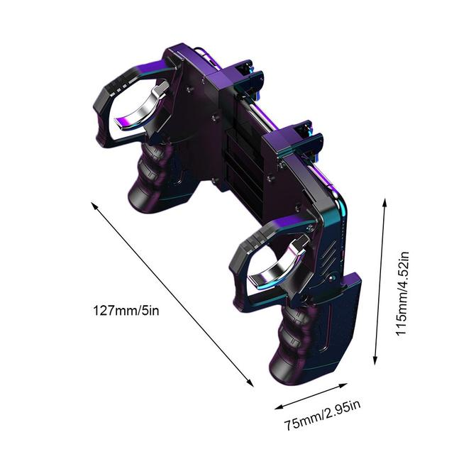 2020 For Pubg Controller For Mobile Phone Game Shooter Trigger Fire Button For IPhone Android Phone Gamepad Joystick PUGB Helper 5