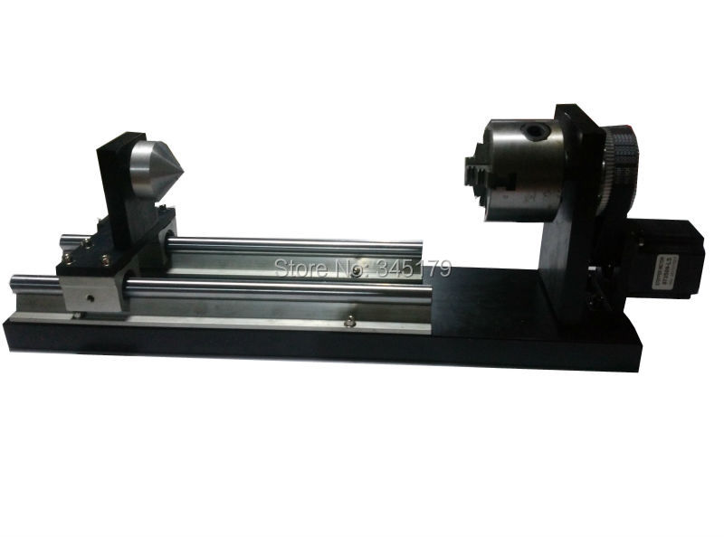 Rotary Axis for Engraving Cylinder Round Objects for Laser Machine