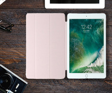 Anti-Dust Colorful PU Leather Flip Case for iPad