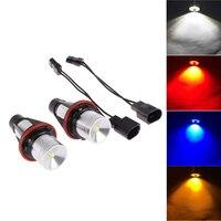 2Pcs Set 2 5W 10W Car LED Marker Angel Eyes Car Motorcycle Light Bulb Auto Headlight
