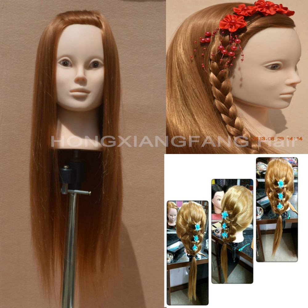 24 Yaki Hair Training Head Mannequin Head Dummy Maniquies Women Cosmetology Mannequin Heads Hairdresser Mannequin Head
