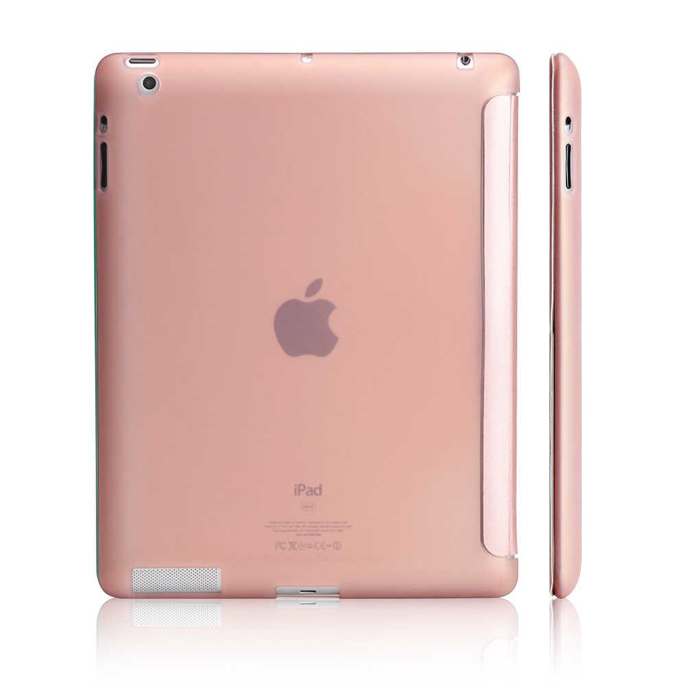 مسؤول حالة ل أبل ipad 4 3 2 ، YCJOYZW-PU أغطية جلد + TPU لينة الذكية السيارات النوم تحيط حافظة لجهاز ipad 2 ipad 3 ipad 4